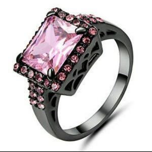 10KT Black Gold Filled Fashion Gift Present Ring
